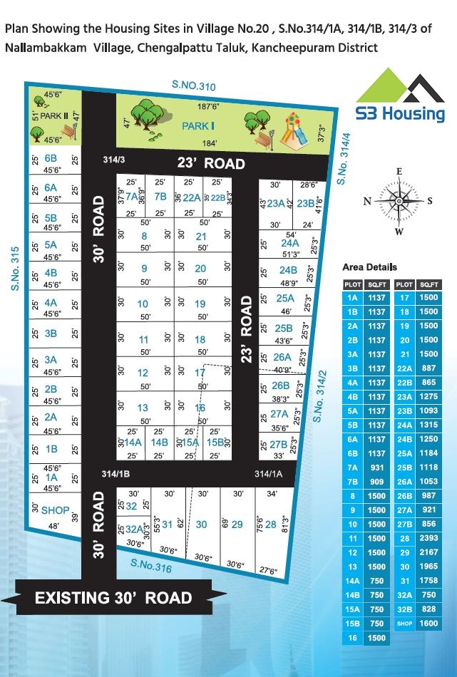 plots kelambakkam near bus stand